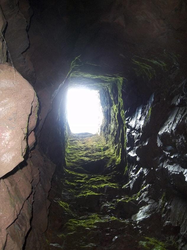 open shaft – early Johannesburg gold mine