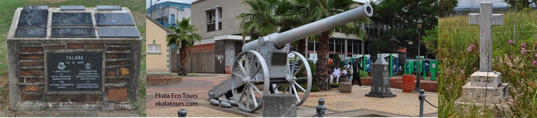 South African historical Battlefield tours