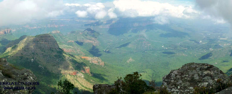Panorama route scenery, Blyde river canyon