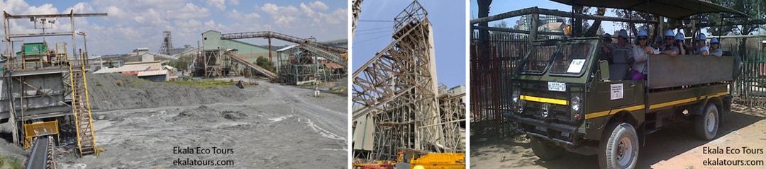 Cullinan surface operations – Motorized tour - part of Ekala's Cullinan mine tours