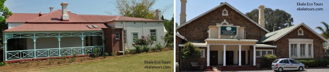 Historical buildings, Cullinan - Ekala's Cullinan village tour