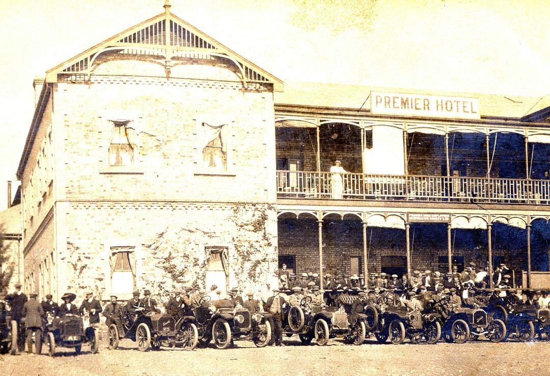 Cullinan Historical Premier Hotel 1906 as covered on Ekala's mine tours