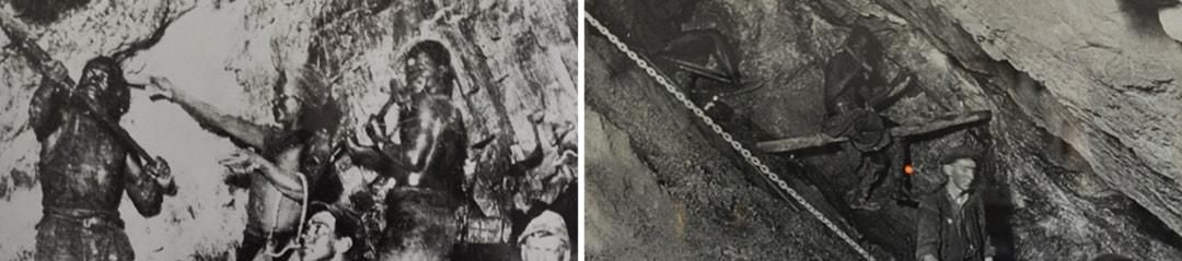 Historical photo – early Johannesburg gold mine