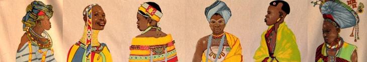 South African cultural dress – Ekala tours