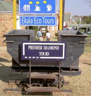 Cullinan Mine Sign – Ekala Eco Tours