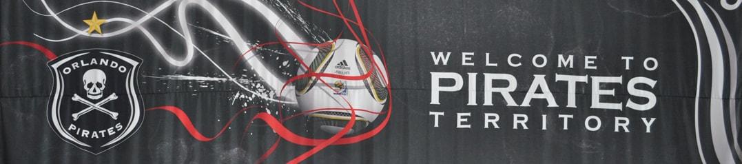 Orlando Pirates stadium sign