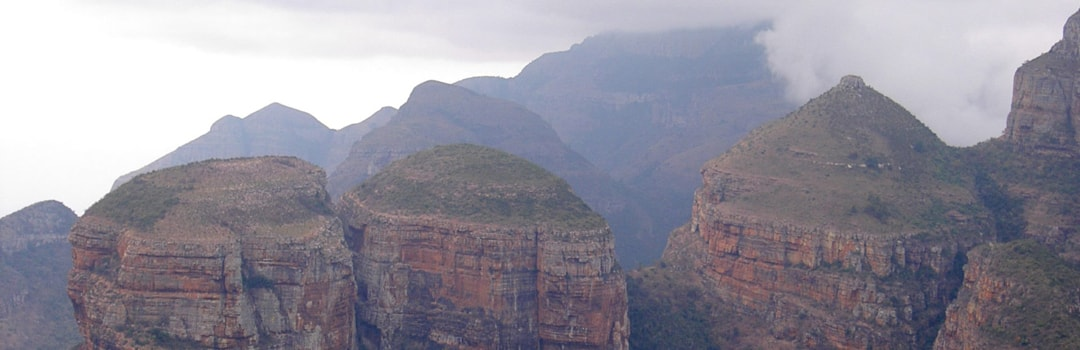 Three rondavels, Blyde river canyon Kruger Panorama route tour