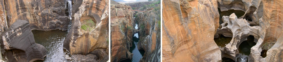 Bourke's luck potholes Blyde river canyon, Kruger Panorama route