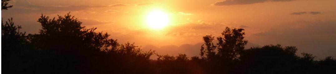 South Africa Sunset - Ekala Eco Tours